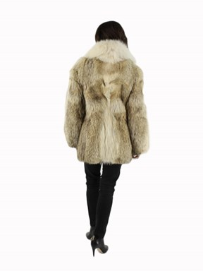 Coyote Fur Jacket w/ Shadow Fox