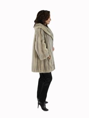 Cerulean Female Mink Fur Jacket