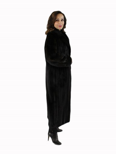 Female Ranch Mink Fur Coat