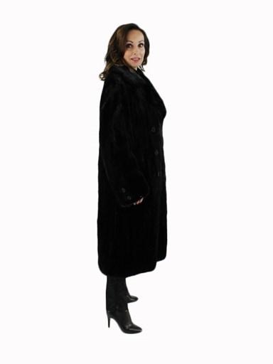 Ranch Mink Fur Section Coat