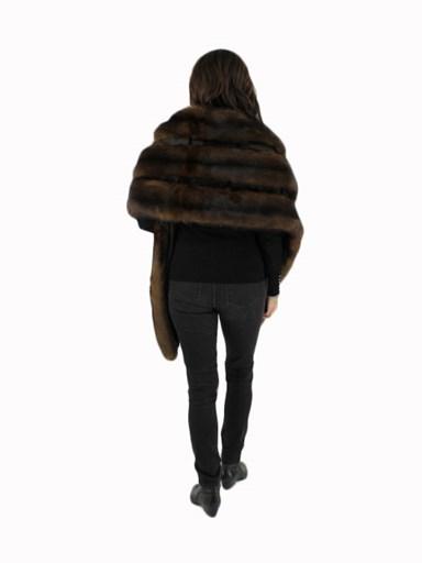 Natural Sable Fur Wrap