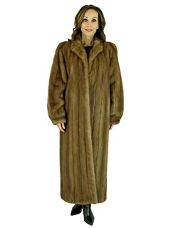 Woman's Pastel Mink Fur Coat