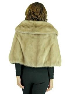 Woman's Breath of Spring Vintage Mink Fur Stole