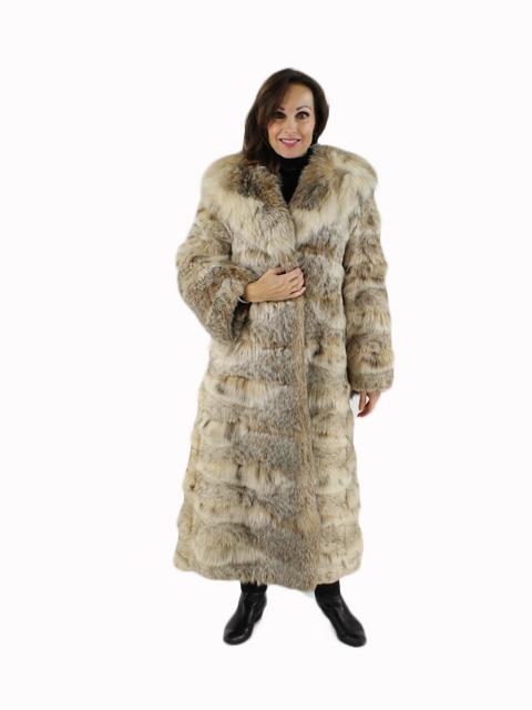 Woman's Natural Lynx Fur Coat