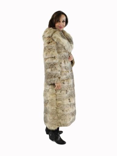 Natural Lynx Fur Coat
