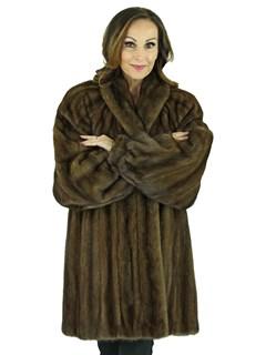 Woman's Scaasi Lunaraine Female Mink Fur Stroller