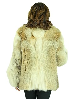 Woman's Coyote Fur Jacket