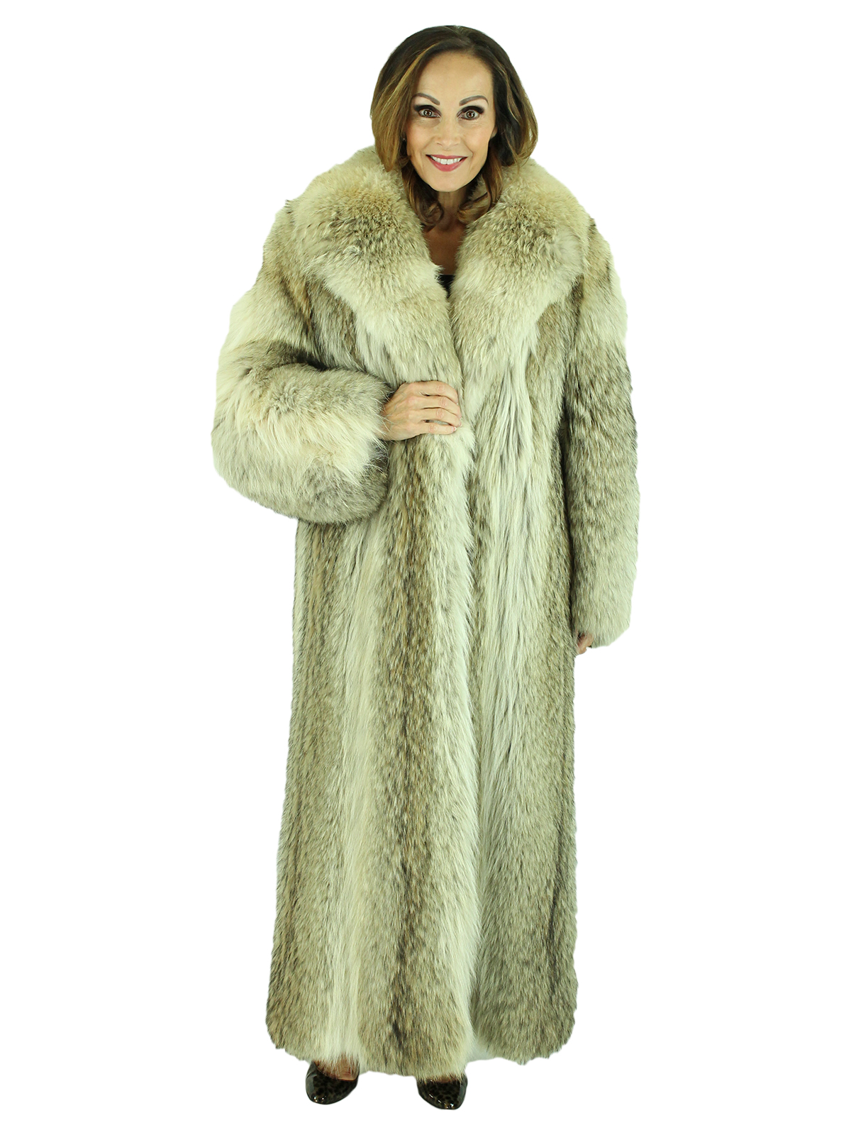 Woman's Coyote Fur Coat
