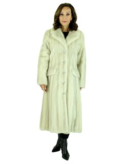 Woman's Tourmaline Female Mink Fur Coat