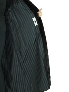 Woman's Black Diamond Ranch Female Mink Fur Coat