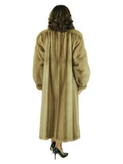 Woman's Vintage Autumn Haze Mink Fur Coat
