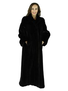 Woman's Elite Ranch Female Mink Fur Coat