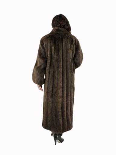 Medium Tone Long Hair Beaver Fur