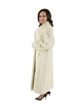 Tourmaline Female Mink Fur Coat