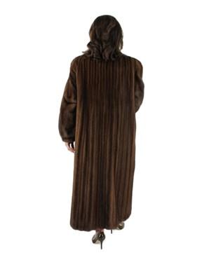 Demibuff Female Mink Fur Coat