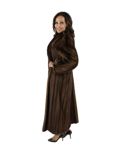 Demibuff Female Mink Fur Coat