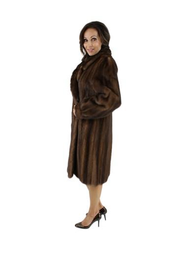 Demibuff Female Mink Fur Stroller