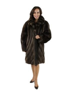 Long Hair Beaver Fur Stroller w/ Directional Body