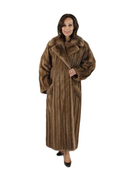 Pastel Female Mink Coat