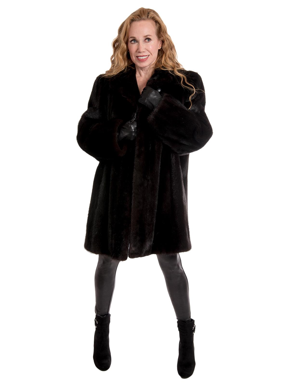 Woman' Ranch Mink Fur Stroller