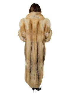 Woman's Golden Isle Fox Fur Coat