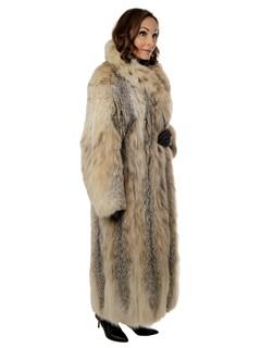 Woman's Canadian Lynx Fur Coat