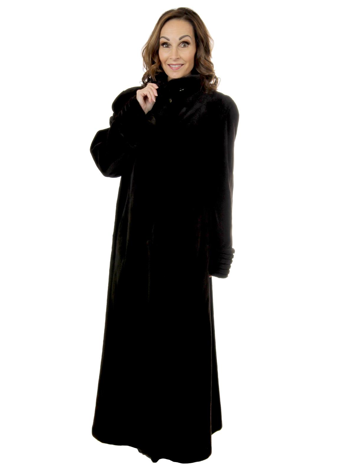Woman's Matara Sheared Mink Fur Coat