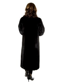 Woman's Blackglama Ranch Female Mink Fur Coat