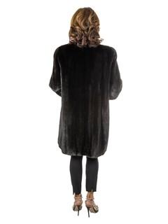 Women's Ranch Female Mink Fur Stroller
