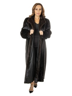 Women's Ranch Mink Fur Coat