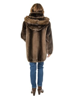 Women's Phantom Sheared Beaver Jacket