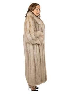 Woman's Amber Fox Fur Coat