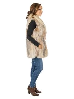 Woman's Canadian Lynx Fur Vest