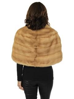 Woman's Vintage Autumn Haze Mink Fur Stole