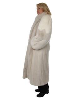 Woman's Blush Mink Fur Coat
