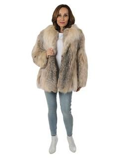 Woman's Canadian Lynx Fur Jacket