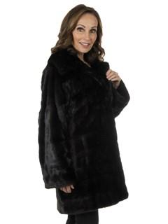 Woman's Ranch Mink Fur Stroller