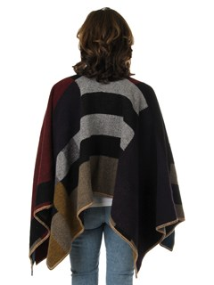 Woman's Multi-Colored Wool Wrap