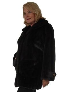 Woman's Valentino Ranch Female Mink Fur Stroller
