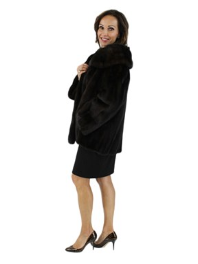 Ranch Mink Fur Evening Jacket