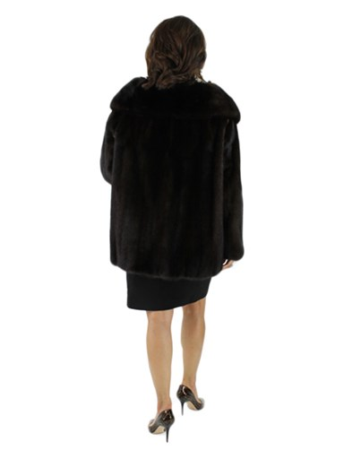 Ranch Mink Fur Evening Jacket
