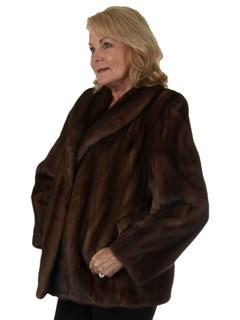 Woman's Lunaraine Female Mink Fur Jacket
