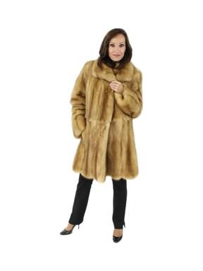 Golden Sable Fur Stroller