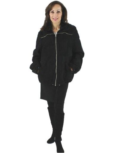 Shearling Sectional Jacket