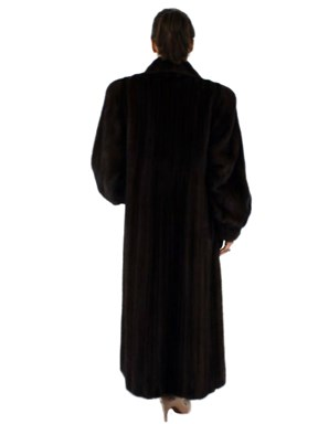 Sweeping Mink Fur Coat