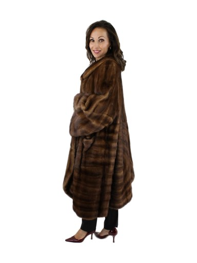 Demibuff Mink Fur Coat