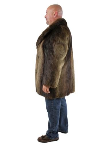 Long Hair Beaver Fur Stroller