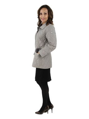 Quilted Fabric Jacket
