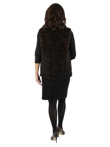 Scanbrown Mink Fur Vest