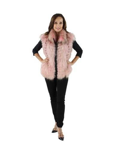 Finnish Raccoon Fur Vest